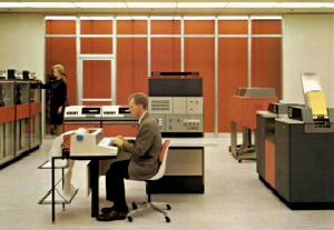 orange office, office furniture, cool offices